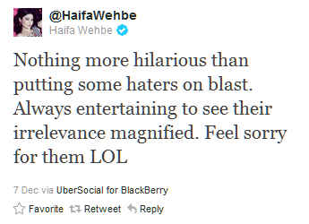 You DON'T mess with Haifa Wehbe... (4/6)