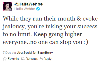 You DON'T mess with Haifa Wehbe... (5/6)