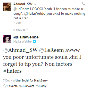 You DON'T mess with Haifa Wehbe... (6/6)